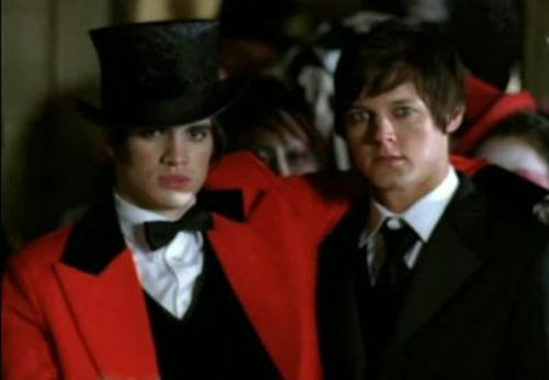 Who's in the I Write Sins Not Tragedies video with Brendon, as playing the groom?