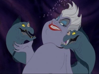 Ursula has how many tentacles?