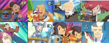 What region are all these Gym Leaders from?