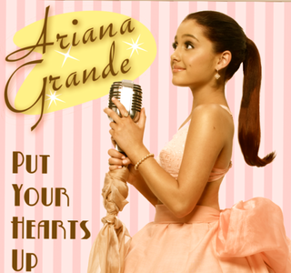TRUE or FALSE: 'Put Your Hearts Up' was earlier released than actually planned?