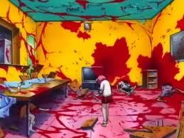 What episode in Elfen Lied does Lucy's dog get taken and killed??