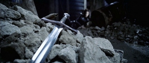 Who was killed with this sword?