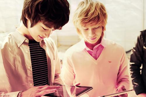 Because Minho and Taemin never cried as much as the other members did, _____ would call them 'kids with no emotions'.