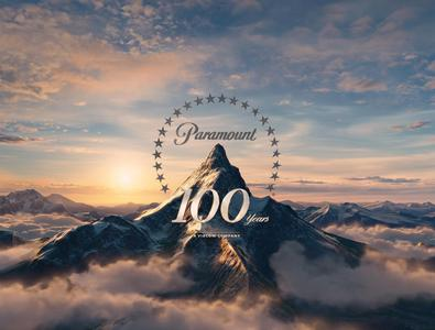 What is the first movie with the new Paramount Pictures logo for 100th anniversary?