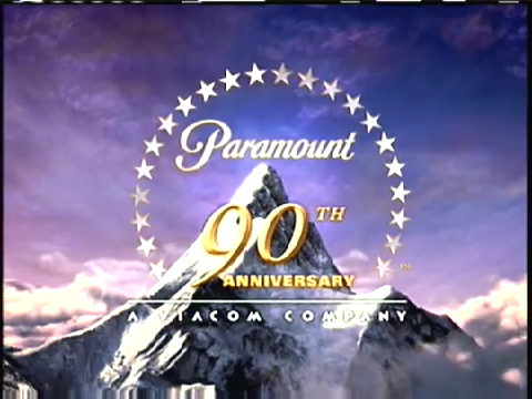 What is the first movie with the 2002 Paramount Pictures logo for 90th anniversary?