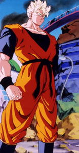 How did the Future Gohan, Gohan's alternate timeline lose his left arm?