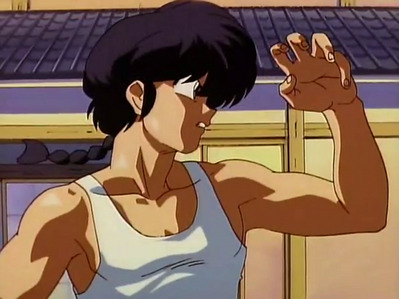 Which girl is Ranma the most Possessive of?