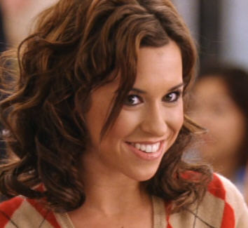 Who says this about Gretchen? 'That's why her hair is so big, it's full of secrets.'