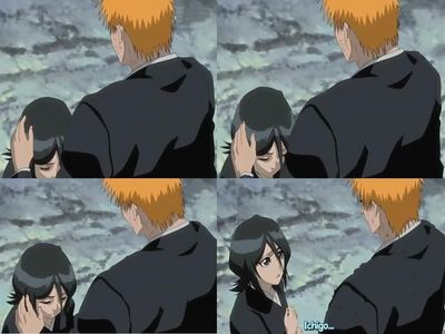 Does Ichigo care alot for Rukia