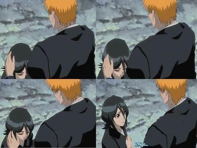 Does Ichigo care alot for Rukia