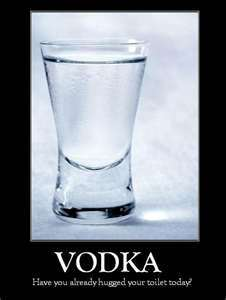 What is vodka made out of?