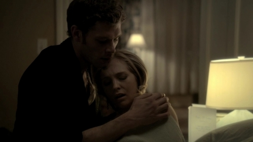 When Klaus came to cure Caroline she said, are you gonna kill me. What did Klause say next.