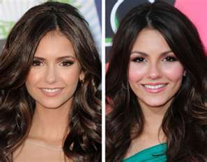 So True Or So False Celebrity Look Alikes Nina Dobrev And Victoria Justice Both Take