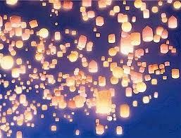 T/:F The floating lanterns are real