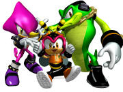 Who was the mystery employer of Team Chaotix in Sonic Heroes?