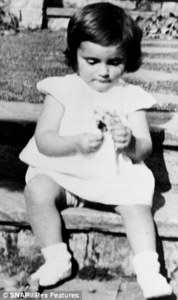 When they were young....Which classic actress is this ?