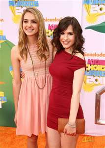 SO TRUE OR SO FALSE: Big Time Rush Stars Erin Sanders and Katelyn Tarver voice Princess Diaspro and Dapne in the animated Series Winx Club.