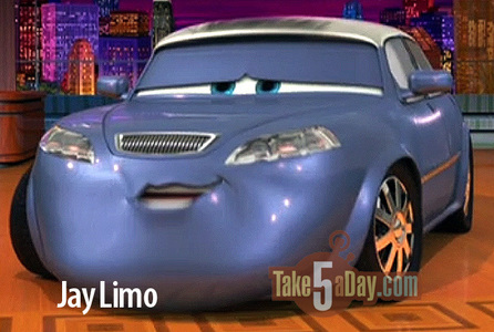 TRUE or FALSE: Jay Limo was voiced by Jay Leno?