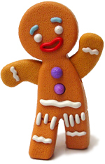 What was the name of Gingy's wife?