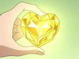 How many points does Vanila and Chocolat gets when they get a yellow coloured heart?