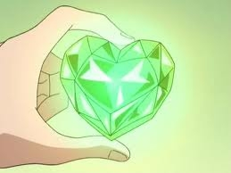 How many points does Vanila and Chocolat gets if they collected a green coloured heart?