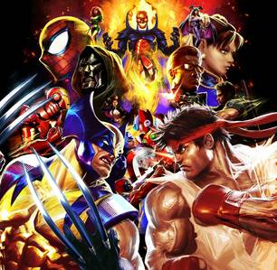 Which Marvel Vs. Capcom game features both labah-labah Man AND Venom as part of the character roster?