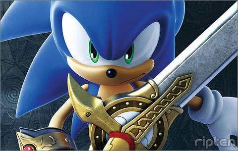 does the sword fit sonic perfectly