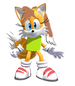 In my sonic fan fiction, who's Amber's best friend?