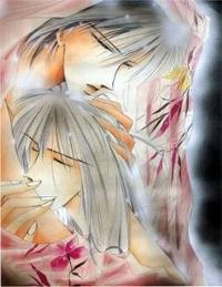 From what manga/anime are based the characters of zetsuai- koji and takuto