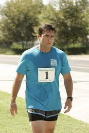 Why did Micheal host a Fun Run for Meredith?