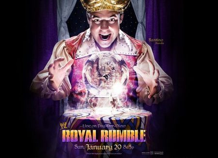 who won the royal rumble in 2012?
