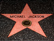 What jaar Did Michael Jackson Get a ster On Hollywood Blvd??