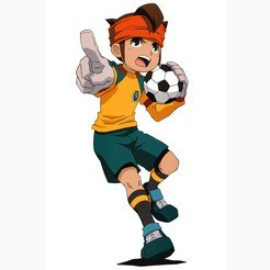 Who is Endou's wife on Inazuma Eleven GO?(on the episodes)