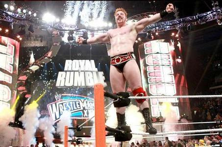 who Sheamus beat and become 2012 Royal Rumble winner