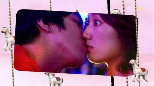 In What Episode did Lee Shin Kissed Lee Kyu Won in the Bar, where he had part-time Job?