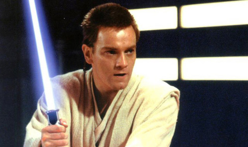 Though he never strayed from the Jedi order , What young Female Jedi Master did Obi-Wan once fall for?