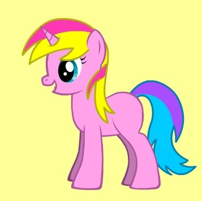 Who did I make using the pony creator?