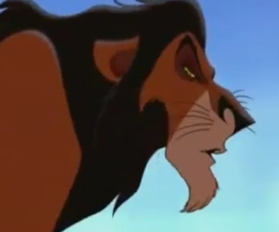 What is Scar saying here?
