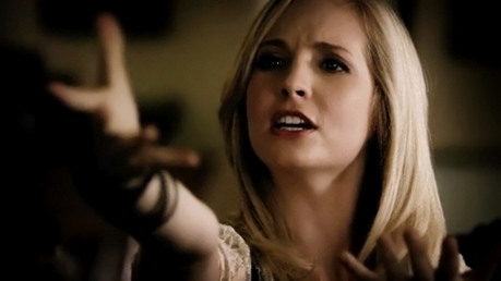 What does Caroline say in this scene?
