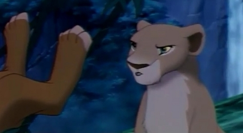 What is Nala saying here?