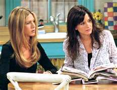 True 或者 False: Rachel and Monica have been 老友记 for years.