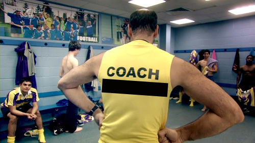 What is the rugby coach's name?