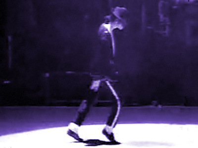 When did MJ did his First Moonwalk?