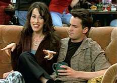 Which Friend did Chandler want to kill because they set him up on a blind дата with Janice?