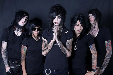 Whats is the name of the lead vocalist of the Black Veil Brides?