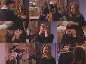 Which season does Rachel break up with Ross because he cheated on her with a copy girl named Chloe?