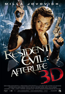 What popular character from the Resident Evil series made a brief appearance at the end of Resident Evil: Afterlife.