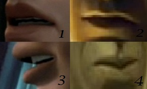 Which lips are Anakin's? (Sorry if some are blurry)