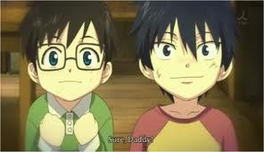 rin and yukio are  ferternal twins,how old are they?