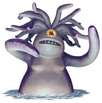 BOSSES - Fought on the sandship and it is repeatedly said that he resembles something from Monsters Inc.